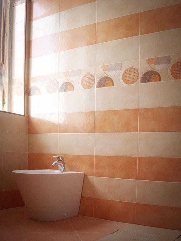Bagno ariana preziosa corsini ceramiche - Bagno arancione ...